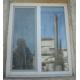 Установка двустворчатого пластикового окна КУ1.2