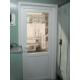 Установка входной пластиковой дверь КУ4.1
