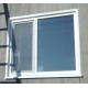 Установка металлического откоса пластикового окна КУ8.1