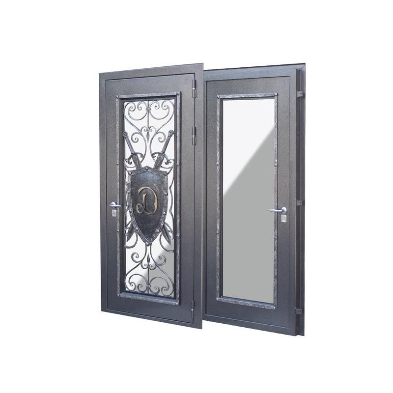 Дизайн бронированной двери